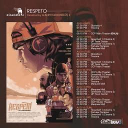 respeto cinemalaya screening schedules